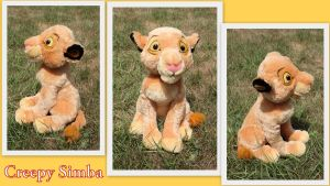 Creepy Simba by Laurel-Lion