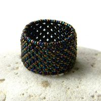 Beaded Ring by anabel27