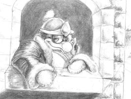 King Dedede is Chill by Penastuff