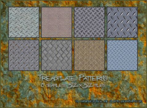 Tread plates Patterns by silver-