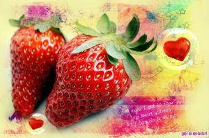 Strawberry Quote by GdCc