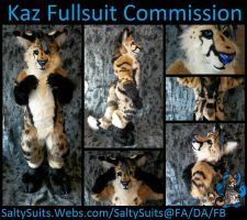 Kaz Fullsuit Commission by SaltyPuppy