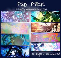 PSD Pack by yumi96