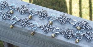 Chainmaille Anklets by ksmithington