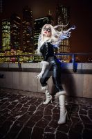 Black cat cosplay by MilenaHime