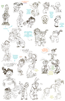 Giant Ed Sketch Dump by BirchyEd