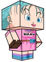 Young Bulma 3D by xangeta