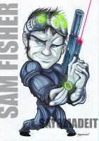 SAM FISHER by SAYOMADEIT