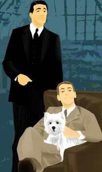 Jeeves and Wooster by friede