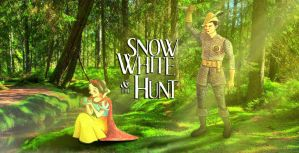 Snow White and the Hunt by nackmu
