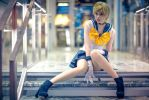 Sailor Uranus cosplay - God of the sky by TheCarebearFag