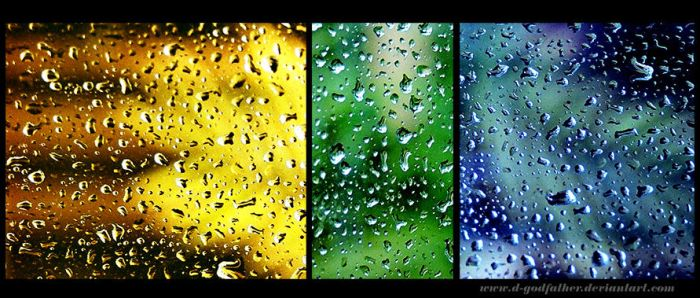 Shades of raindrops by d-godfather