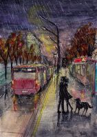 Last daily bus by Albi777