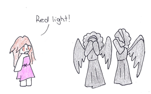 Red Light! Weeping Angels by Zurhei