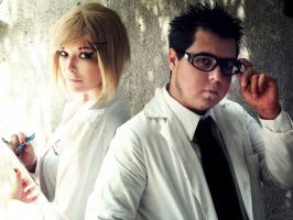 Maniac Biologist and Assistant by Nao-Dignity