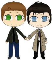 Commission - Dean and Cas by Sports3388