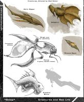 More Mutant Fish Concepts by Hyptosis
