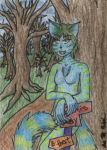 ACEO: Lady Cheshire by Animus-Panthera