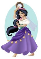 + JASMINE as ESMERELDA + by Opal-I