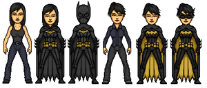 Cassandra Cain/Black Bat by KieranCampbell
