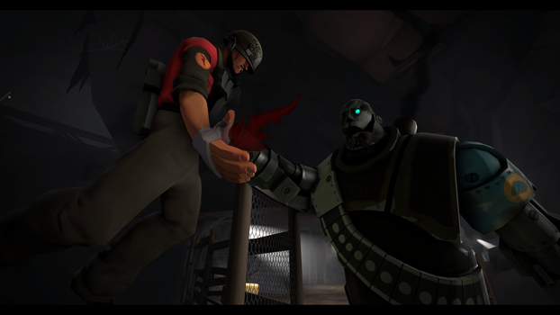 (SFM) A last chance of survive by CobaltDrawing