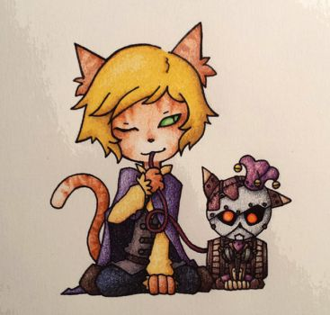 Kitty Paultin and Kitty Simon by Despereaux-7