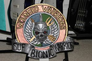 S.O.F. Bionic Warrior patch by aracknoid3