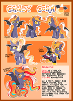 Candy Corn Reference sheet by xWhiteDreamsx