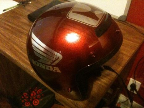 Honda Motorcycle Helmet by shadow7117