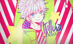 Killua Zoldyck l Signature by Asunaw
