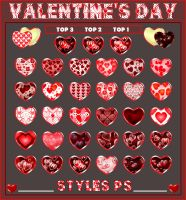 Valentine's Day   Styles Pack 1 by Photos-Loutche