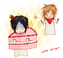 Aoi-cake by mister-orange