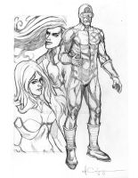 Cyclops Pencils by ncajayon