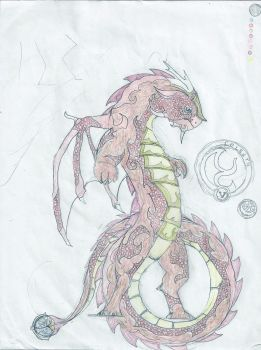 Ten Dragons Project No.5 Colestn by shadowshot9