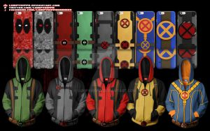 Deadpool Hoodies 1 by lumpyhippo