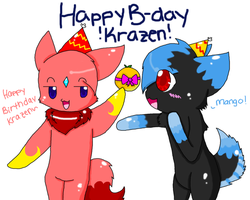 Happy B-day Krazen by Kaigumo