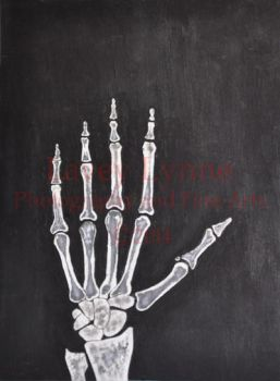 X-ray Painting by Lavey-Lynne