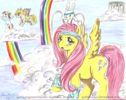 Fluttershy in Training by gothicsugar