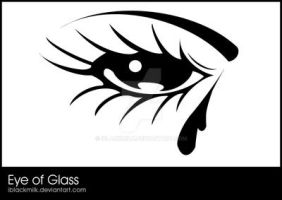 Eye of Glass by iblackmilk