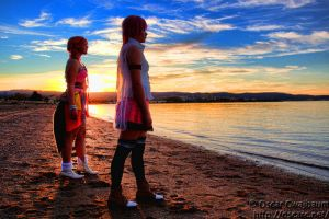 Sunset Beach by Sara-TheOneAndOnly