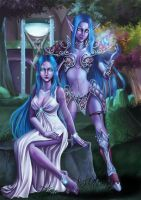 Kal-dorei by Archie-the-RedCat by SweetYuya