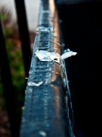 Edge of Dumpster by tinaateurface