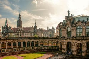 Dresden Zwinger by brijome
