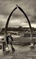 Me, the Whalebones and the Abbey... by TheBaldingOne