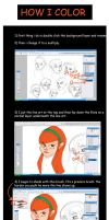 Color tutorial by 2BeanSoup