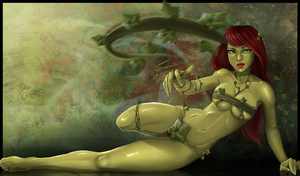 Poison Ivy Commission by Flesh-Odium