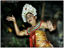 Balinese Dancer by indonesia