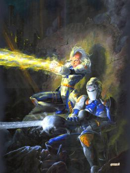 Atorians in action by WBreaux