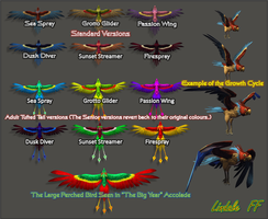 Risa Tropical Birds by Lindale-FF