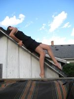 Lying on roof by 3corpses-in-A-casket